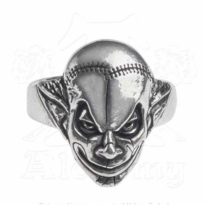 prsten ALCHEMY GOTHIC - M era Luna Evil Clown