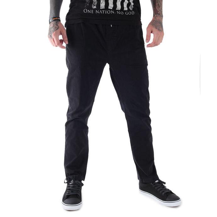 kalhoty pánské GLOBE - Goodstock Beach Pant - Black