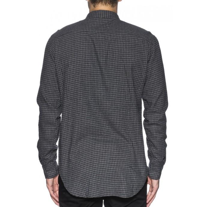 košile pánská GLOBE - Barkly LS - Grey Marle