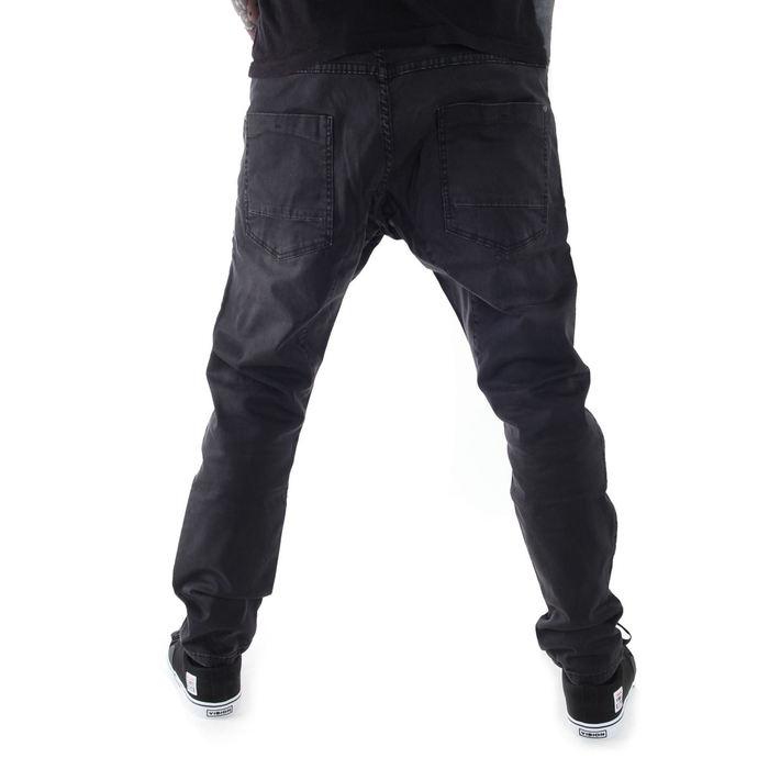 kalhoty pánské GLOBE - Select Loose Taper - Vintage Black