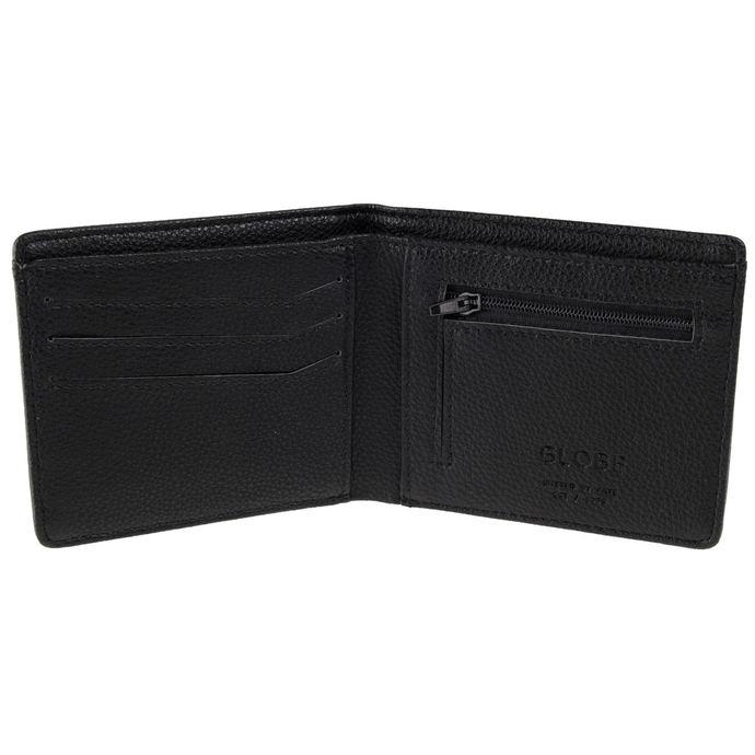 peněženka GLOBE - Corroded II - Black