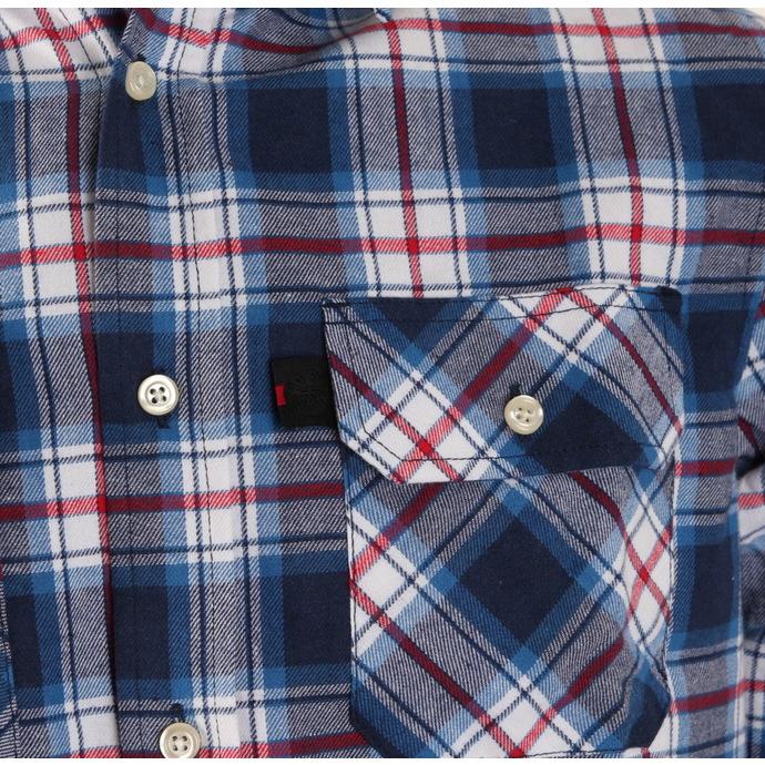 košile pánská INDEPENDENT - Faction Blue Check
