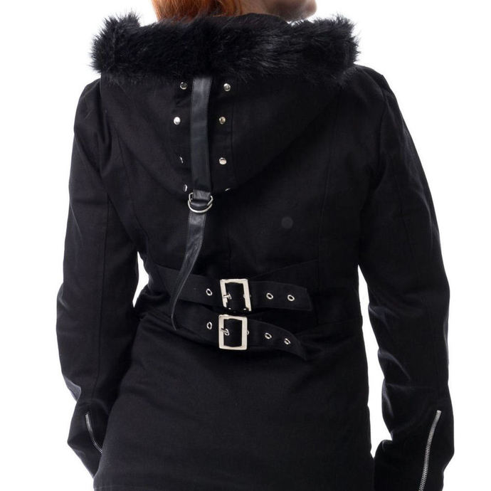 kabát dámský HEARTLESS - SARA - BLACK