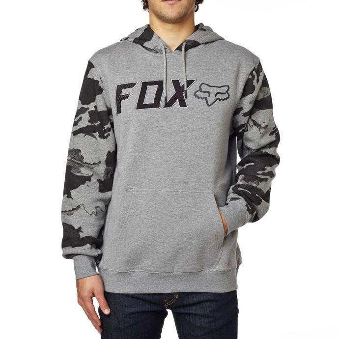 mikina pánská FOX - Diskors Fleece - Heather Graphite