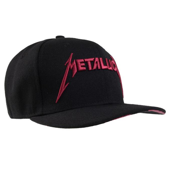 kšiltovka Metallica - MOP - Black