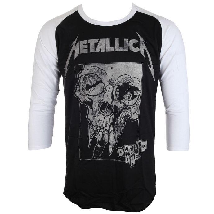 tričko pánské Metallica - Damage Detail Inversed