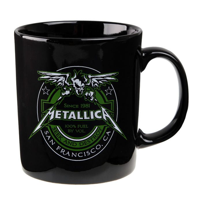 hrnek Metallica - Fuel Black