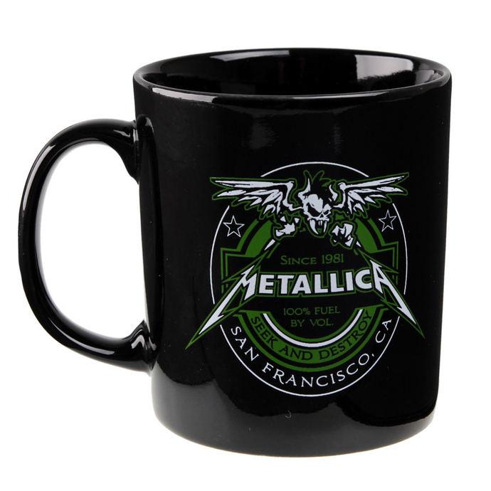hrnek Metallica - Fuel Black