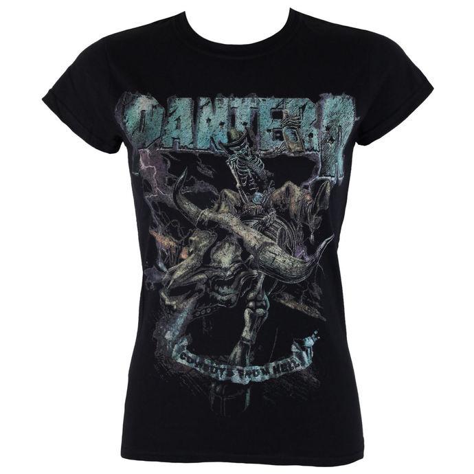 tričko dámské Pantera - Vintage Rider - ROCK OFF