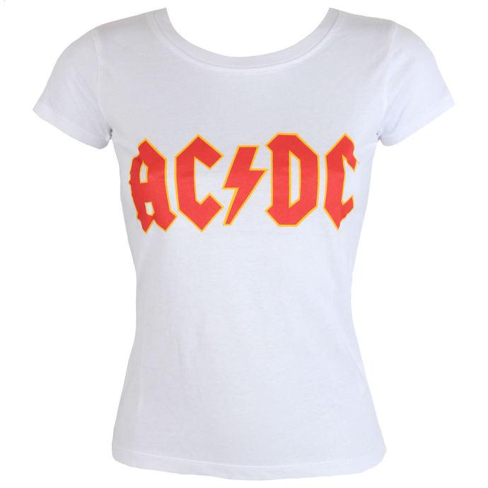 tričko dámské AC/DC - Classic Logo - ROCK OFF