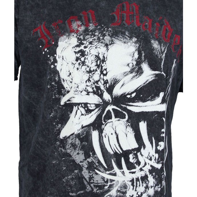 tričko pánské Iron Maiden - FF Eddie Puff Illuminous - ROCK OFF