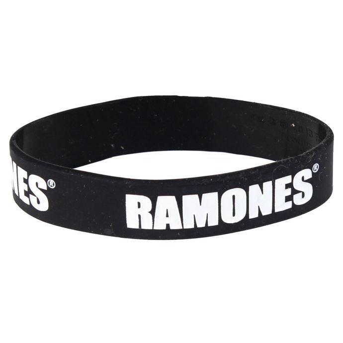 náramek Ramones - Logo Gummy Band - ROCK OFF