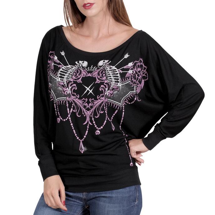 tričko dámské s dlouhým rukávem HYRAW - Mandala
