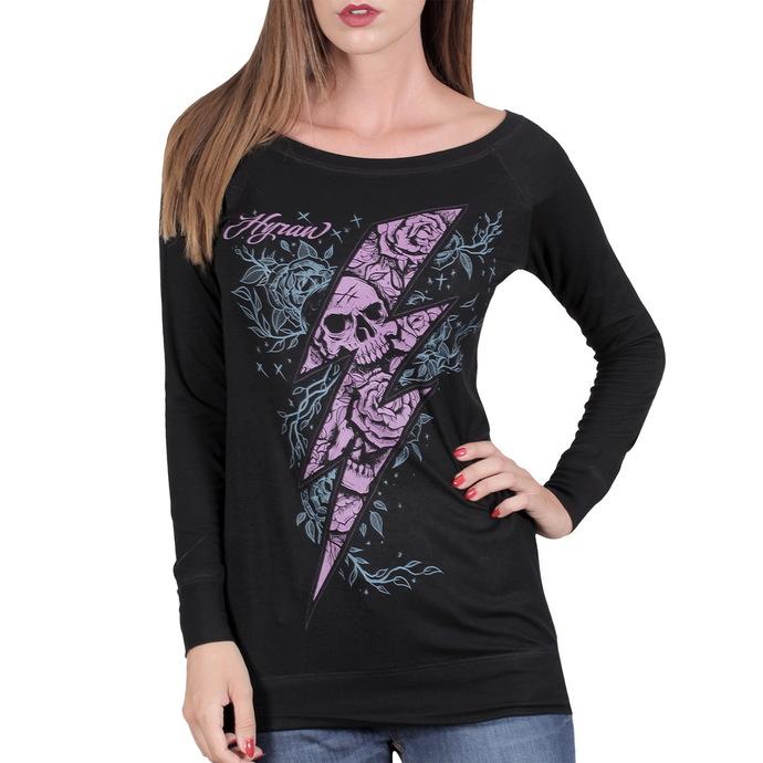 tričko dámské s dlouhým rukávem HYRAW - Flash