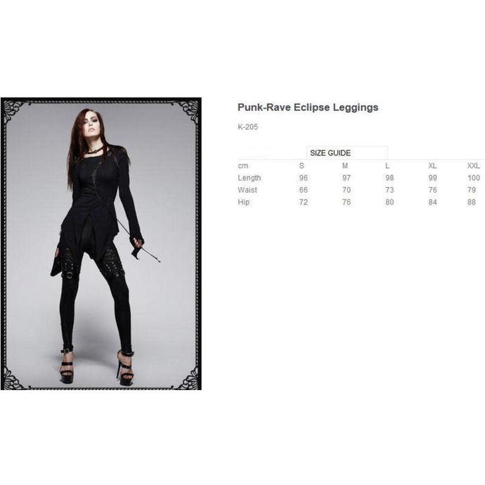 kalhoty dámské (legíny) PUNK RAVE - Mantrap