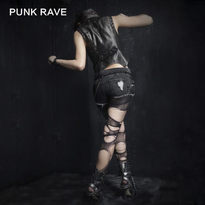 kraťasy dámské PUNK RAVE - Mad Girl