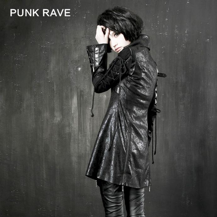 kabát dámský PUNK RAVE - Poisonblack