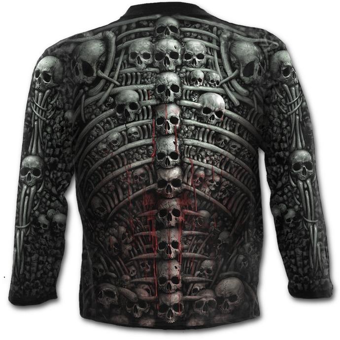 tričko pánské s dlouhým rukávem SPIRAL - DEATH RIBS