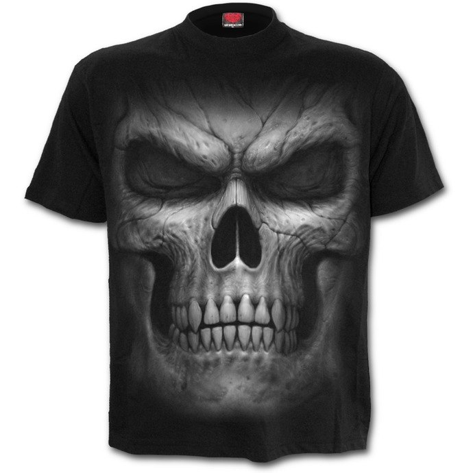 tričko unisex SPIRAL - SHADOW MASTER - Black