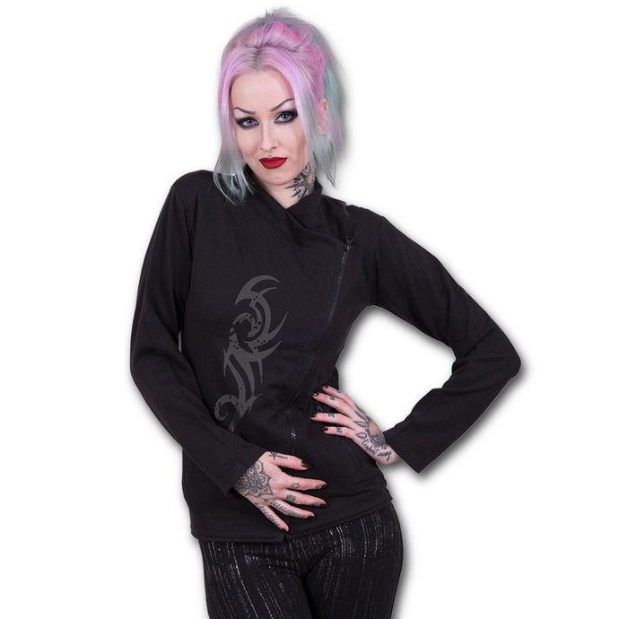 mikina dámská SPIRAL - STAINED TRIBAL - Black