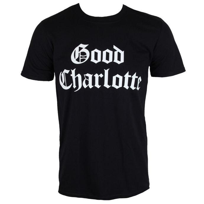 tričko pánské Good Charlotte - White Puff Logo - PLASTIC HEAD