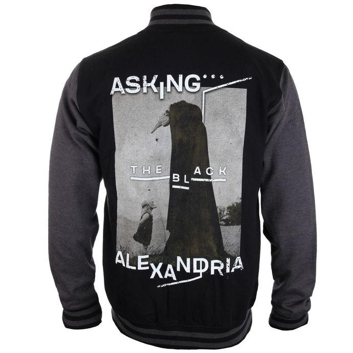 mikina pánská (baseball) Asking Alexandria - The Black Original Art - PLASTIC HEAD