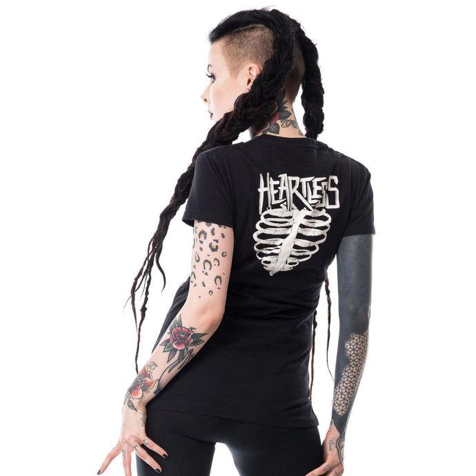 tričko dámské HEARTLESS - I HATE WEDNESDAYS T - BLACK