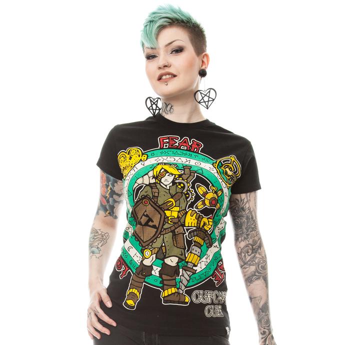 tričko dámské CUPCAKE CULT - STEAMPUNK LEGEND T - BLACK