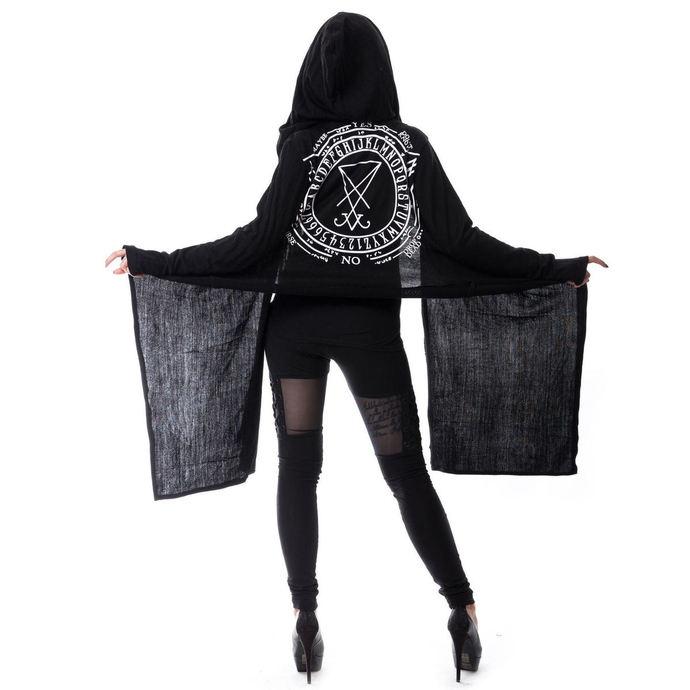 svetr dámský (cardigan) HEARTLESS - LAZARUS - BLACK