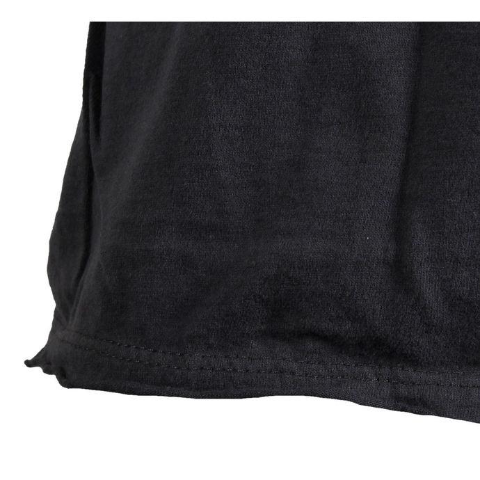 tričko pánské KISS - LOGO - CHARCOAL - AMPLIFIED