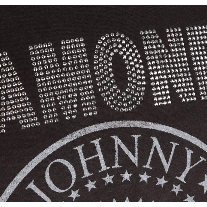 tričko pánské RAMONES - LOGO - CHARCOAL - AMPLIFIED
