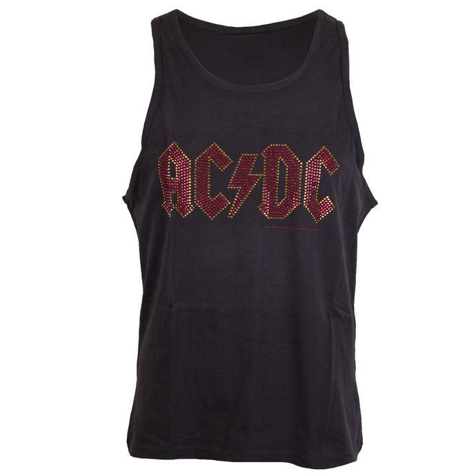 tílko pánské AC/DC - LOGO CHARCOAL - AMPLIFIED