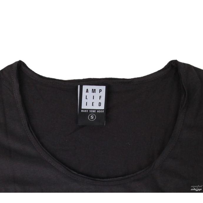 tričko dámské KISS - DISTRESSED ARMY CHARCOAL - AMPLIFIED