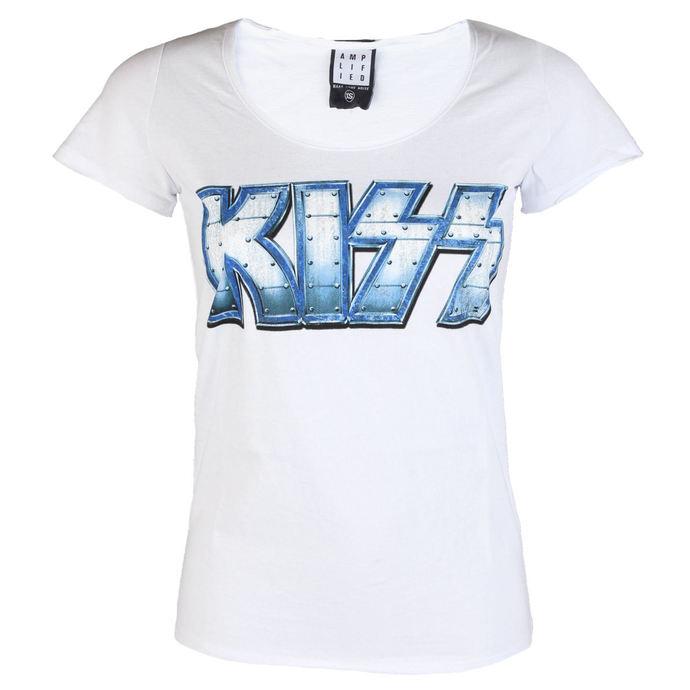 tričko dámské KISS - METAL DISTRESSED - AMPLIFIED