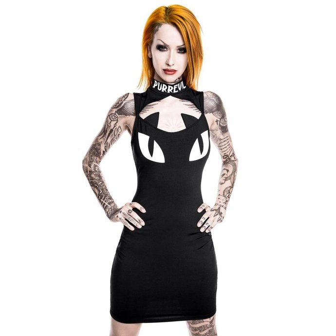 šaty dámské KILLSTAR - Purr Evil