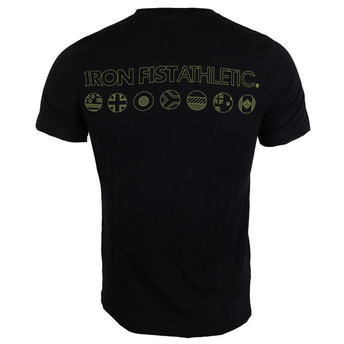 tričko pánské IRON FIST - Black