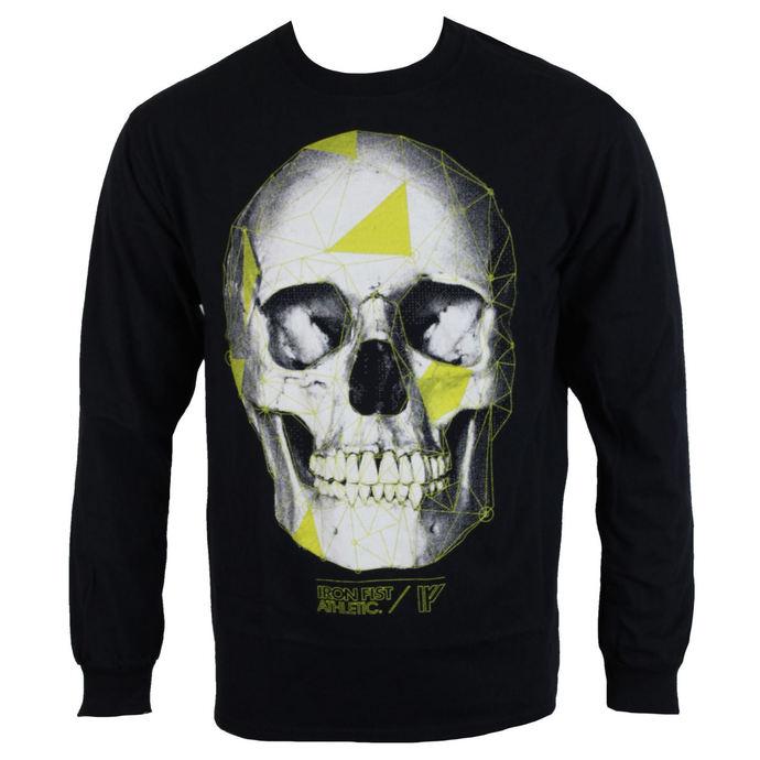 tričko pánské s dlouhým rukávem  IRON FIST - Black
