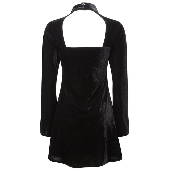 šaty dámské KILLSTAR - Ziva Velvet