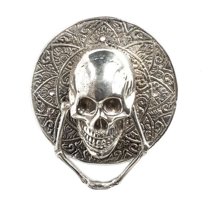 dekorace (klepadlo) QUEEN OF DARKNESS - Silver Door