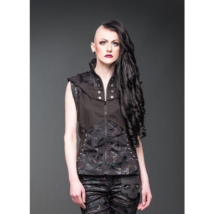 vesta dámská QUEEN OF DARKNESS - Black