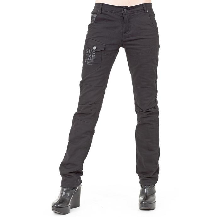 kalhoty dámské (zimní) QUEEN OF DARKNESS - Black