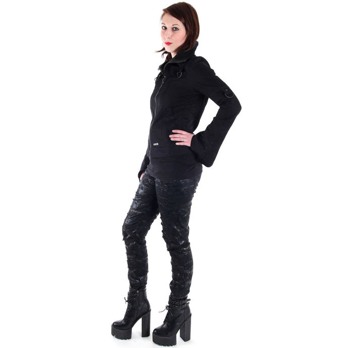 kalhoty dámské QUEEN OF DARKNESS - Cracks