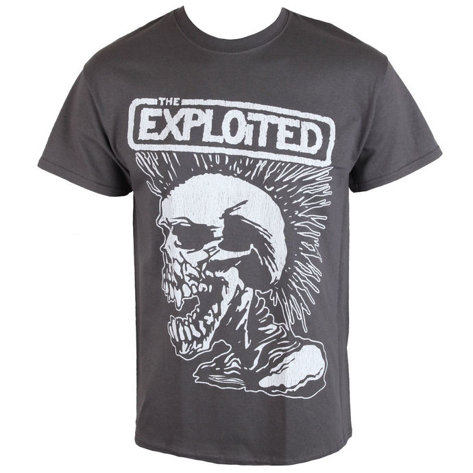 tričko pánské Exploited - VINTAGE SKULL - RAZAMATAZ