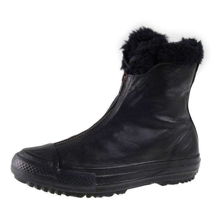 boty dámské zimní CONVERSE - CTAS Hi Rise Boot Shroud - BLK/BLK/BLK
