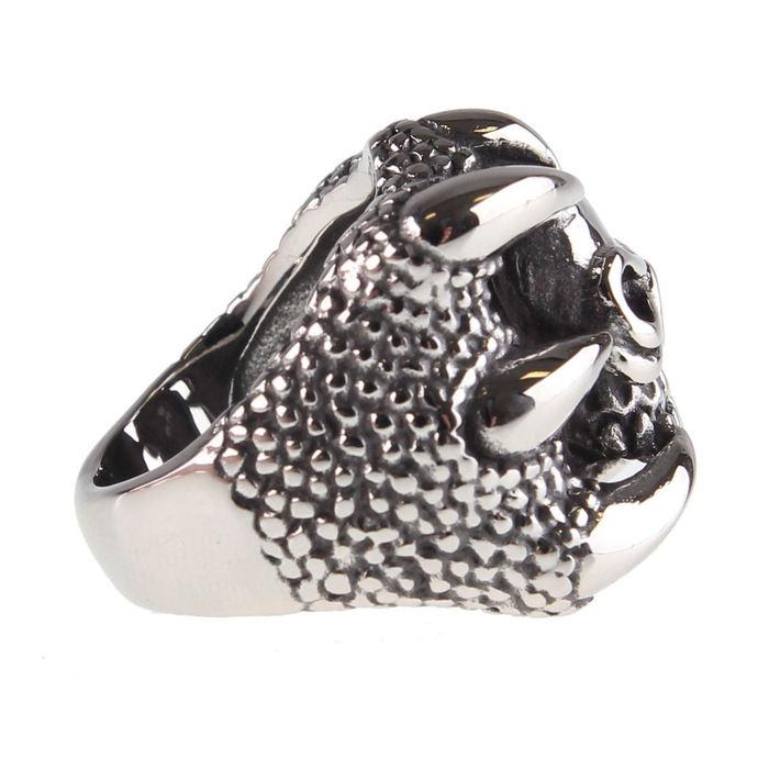 prsten ETNOX - Claw Skull