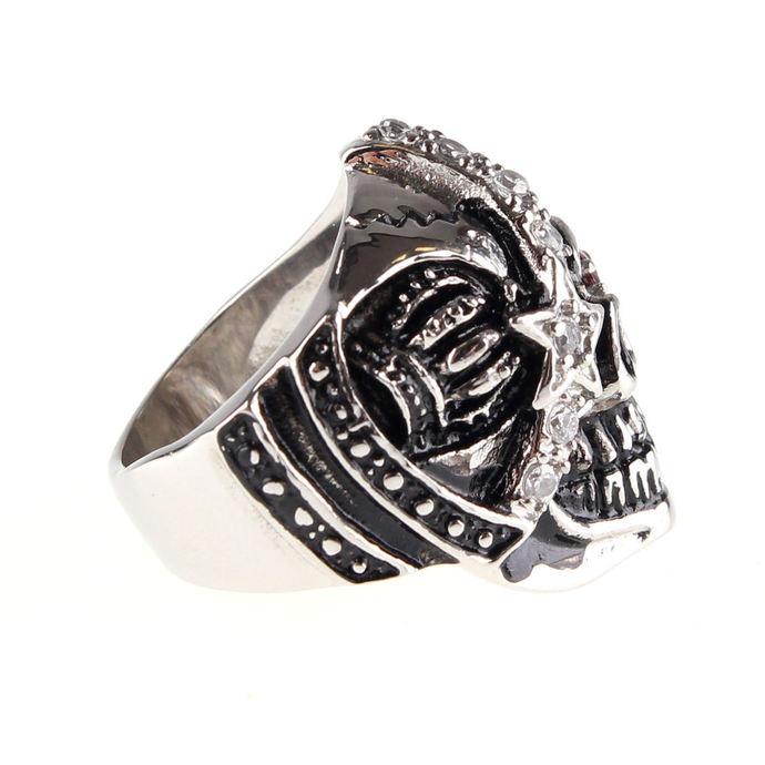 prsten ETNOX - Machine Skull 2
