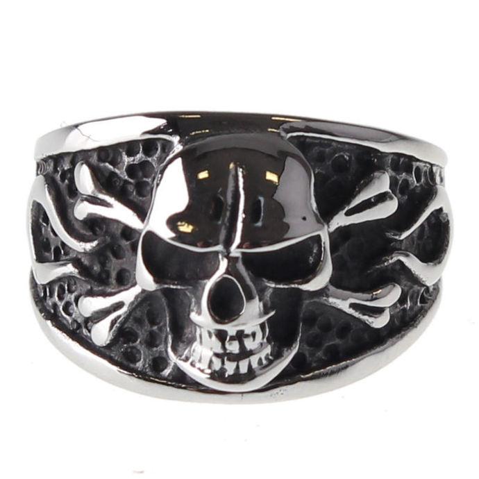 prsten ETNOX - Big Skull