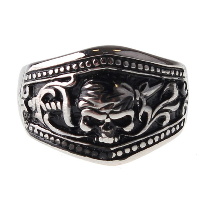 prsten ETNOX - Pirate Skull