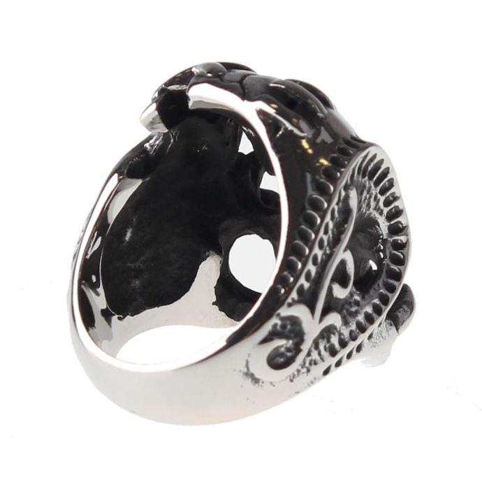 prsten ETNOX - Skull
