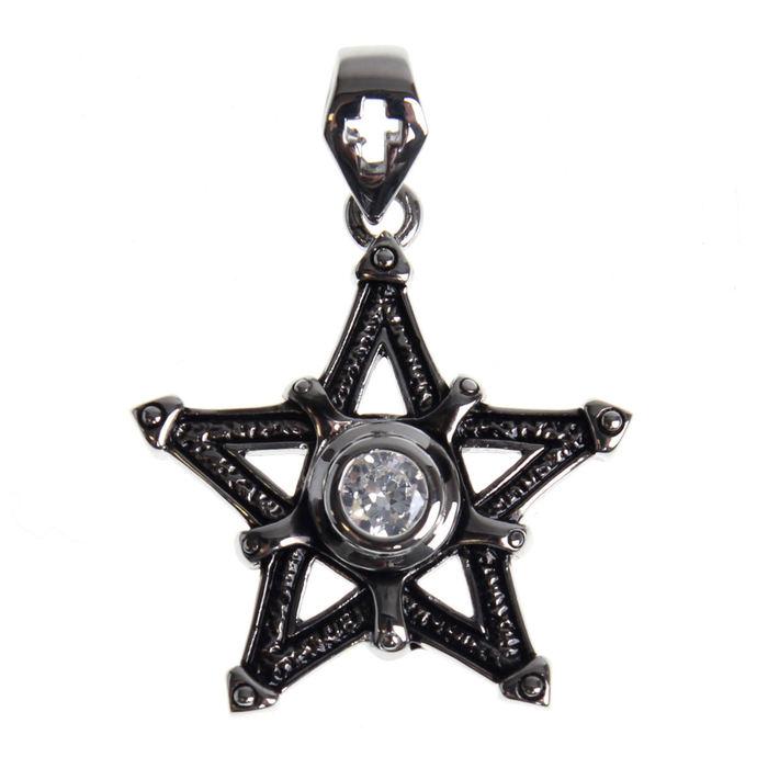 obojek ETNOX - Big Pentagram